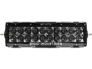 "Rigid Industries 11092 10"" E-Series Light Cover - Clear - trim 4"" & 6"""