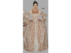 Deluxe Marie Antoinette Champagne Gown Costume- Theatrical Quality