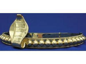 Egyptian Cobra Headband- Gold- Womens
