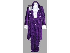 Deluxe Prince 1980s Music Artist Purple Rain Costume- Theatrical Quality