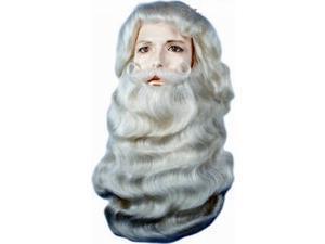 Santa Claus Yak Wig & Beard Set- Superior Edition