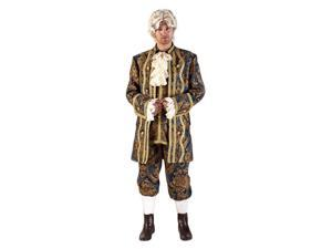Deluxe Mozart Colonial Man Costume- Theatrical Quality