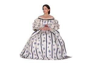 Deluxe Mary Todd Lincoln Costume- Theatrical Quality