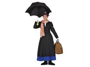 Deluxe Mary Poppins English Nanny Costume-Theatrical Quality