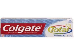 Colgate Total Plus Whitening Toothpaste, Gel - 6 Oz (pack Of 6)