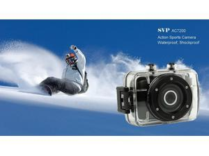 SVP 720P HD Mini Action Helmet Camera Waterproof Sport Car DV Bike Camcorder