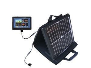 SunVolt MAX Solar Charger compatible with the Samsung Galaxy Note 10.1 Tablet and one other device&#59; charge from sun at wall outl