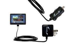 Car & Home Charger Kit compatible with the Samsung Galaxy Note 10.1 Tablet