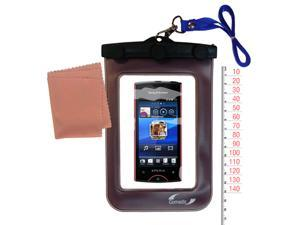 Waterproof Case compatible with the Sony Ericsson Xperia ray