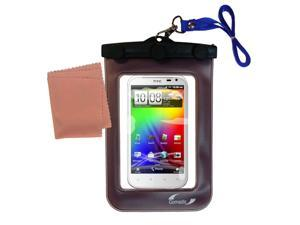 Waterproof Case compatible with the HTC Sensation XL