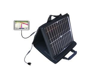 SunVolt MAX Solar Charger compatible with the Garmin Nuvi 205 205W 205WT and one other device&#59; charge from sun at wall outlet-li