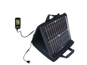 SunVolt MAX Solar Charger compatible with the uPro uPro Golf GPS and one other device&#59; charge from sun at wall outlet-like speed