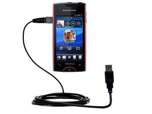 USB Cable compatible with the Sony Ericsson Xperia ray