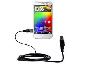 USB Cable compatible with the HTC Sensation XL