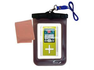 Waterproof Case compatible with the Toshiba Gigabeat F40 MEGF40
