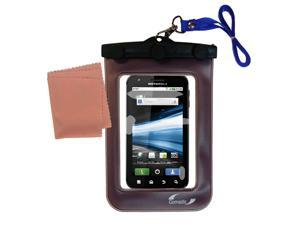 Waterproof Case compatible with the Motorola Atrix 2