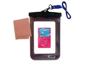Waterproof Case compatible with the Sandisk Sansa Fuze