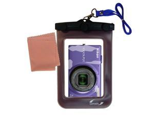 Waterproof Camera Case compatible with the Nikon Coolpix S6100