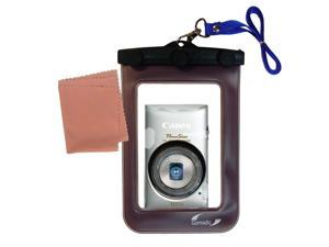 Waterproof Camera Case compatible with the Canon Powershot ELPH 300 HS