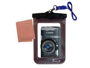 Waterproof Camera Case compatible with the Canon Powershot SD780 IS