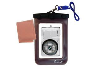 Waterproof Camera Case compatible with the Casio Exilim Zoom EX-Z77