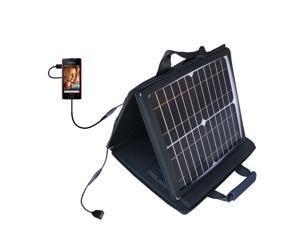 SunVolt MAX Solar Charger compatible with the Sony Ericsson Xperia ray and one other device&#59; charge from sun at wall outlet-like