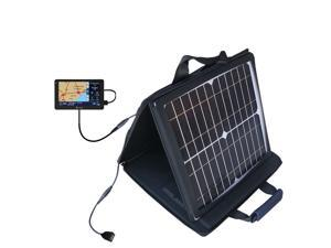 SunVolt MAX Solar Charger compatible with the Cobra 5550 6000 7750 8000 Pro HD PLT and one other device&#59; charge from sun at wall