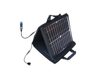 SunVolt MAX Solar Charger compatible with the Cowon iAudio U2 and one other device&#59; charge from sun at wall outlet-like speed