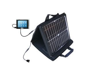 SunVolt MAX Solar Charger compatible with the Cowon iAudio D2 and one other device&#59; charge from sun at wall outlet-like speed