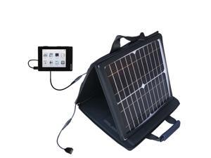 SunVolt MAX Solar Charger compatible with the Cowon iAudio D2 Plus and one other device&#59; charge from sun at wall outlet-like spe