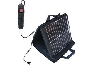 SunVolt MAX Solar Charger compatible with the Logitech Harmony 700 and one other device&#59; charge from sun at wall outlet-like spe
