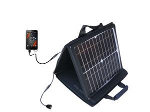 SunVolt MAX Solar Charger compatible with the Sony Ericsson Xperia active and one other device&#59; charge from sun at wall outlet-l