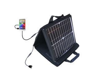 SunVolt MAX Solar Charger compatible with the HTC Sensation XL and one other device&#59; charge from sun at wall outlet-like speed