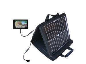 SunVolt MAX Solar Charger compatible with the Garmin Nuvi 3590 3590LMT and one other device&#59; charge from sun at wall outlet-like