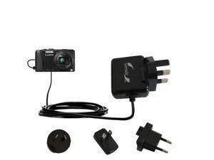 International Wall Charger compatible with the Panasonic Lumix ZS25 / ZS30