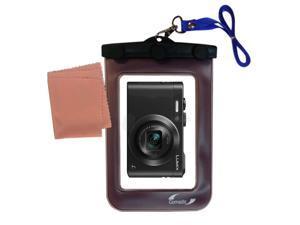 Waterproof Camera Case compatible with the Panasonic Lumix LF1 / DMC-LF1