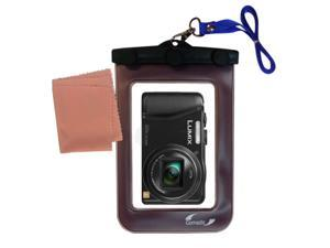 Waterproof Camera Case compatible with the Panasonic Lumix ZS25 / ZS30