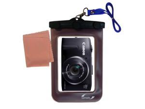 Waterproof Camera Case compatible with the Canon Powershot SX260 SX280