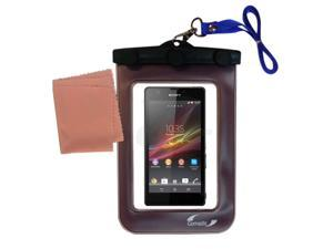 Waterproof Case compatible with the Sony Xperia ZR