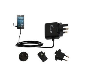 International Wall Charger compatible with the Gigabyte GSmart Rio R1