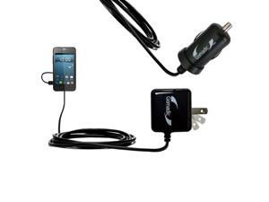 Car & Home Charger Kit compatible with the Gigabyte GSmart Rio R1