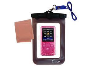 Waterproof Case compatible with the Sony Walkman NWZ-E383 / NWZ-E384 / NWZ-E385 to use underwater