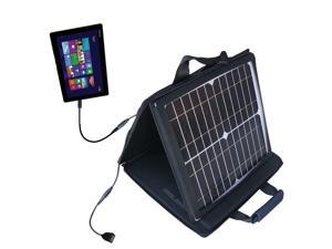SunVolt Solar Charger compatible with the Asus Transformer T100 T100TA-H1-GR T100TA-C1-GR and one other device - charge from sun