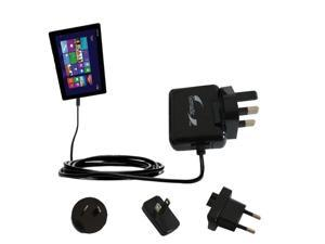 International Wall Charger compatible with the Asus Transformer T100 T100TA-H1-GR T100TA-C1-GR