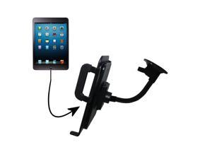 Unique Suction Cup Mount / Holder Stand designed for the Apple iPad Mini (all generations) Tablet