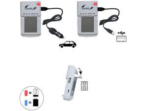 Lithium Battery Fast Charger compatible with the Olympus Tough TG-3