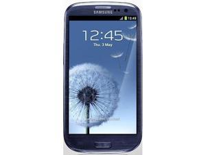 Samsung Galaxy S III I9300 Quad Band Android Ice Cream Sandwich 4.0 Super Amoled Phone (Blue)