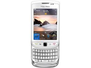 Blackberry Torch 9800 PDA Touch Screen Unlocked Quad Band Phone (White)