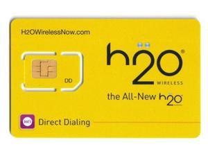 H2o Unlimited Wireless Prepaid Sim Card New Never Activated, Ready For Activation ($10 a Month is here)