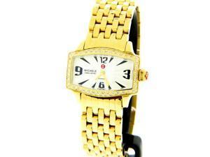 Michele Diamond Gold-tone Women's Watch MWW02R000002